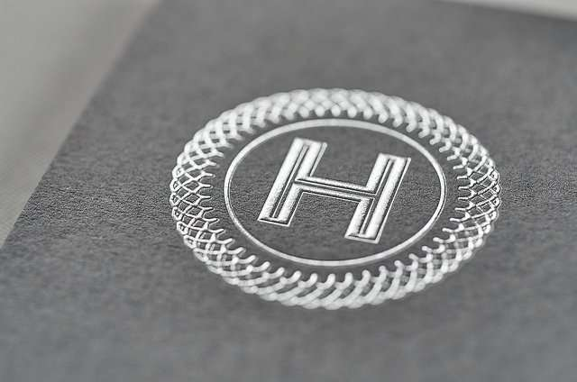 emboss with foil printing techniques