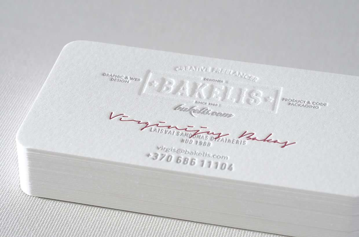 Award winning business card | ELEGANTE PRESS ...
