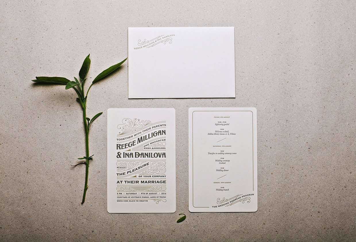 royal letterpress wedding invitation 2 royal wedding invitation Royal Letterpress Wedding Invitation 1