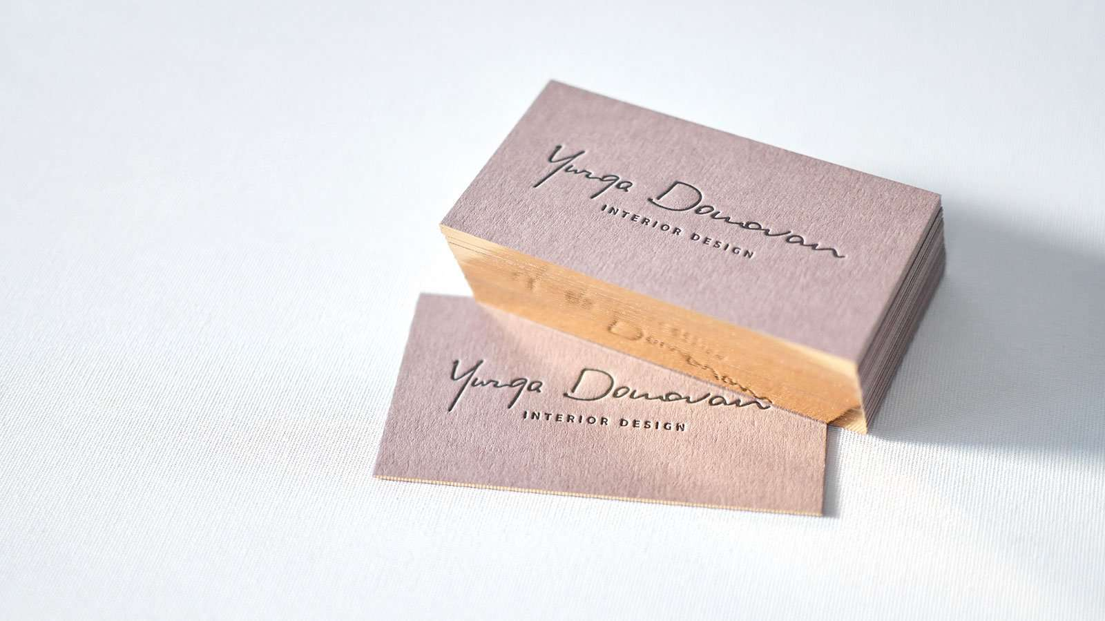 Brown business cards with single gilded edges elegante press brown letterpress business card with single gilded edge online magicingreecefo Gallery