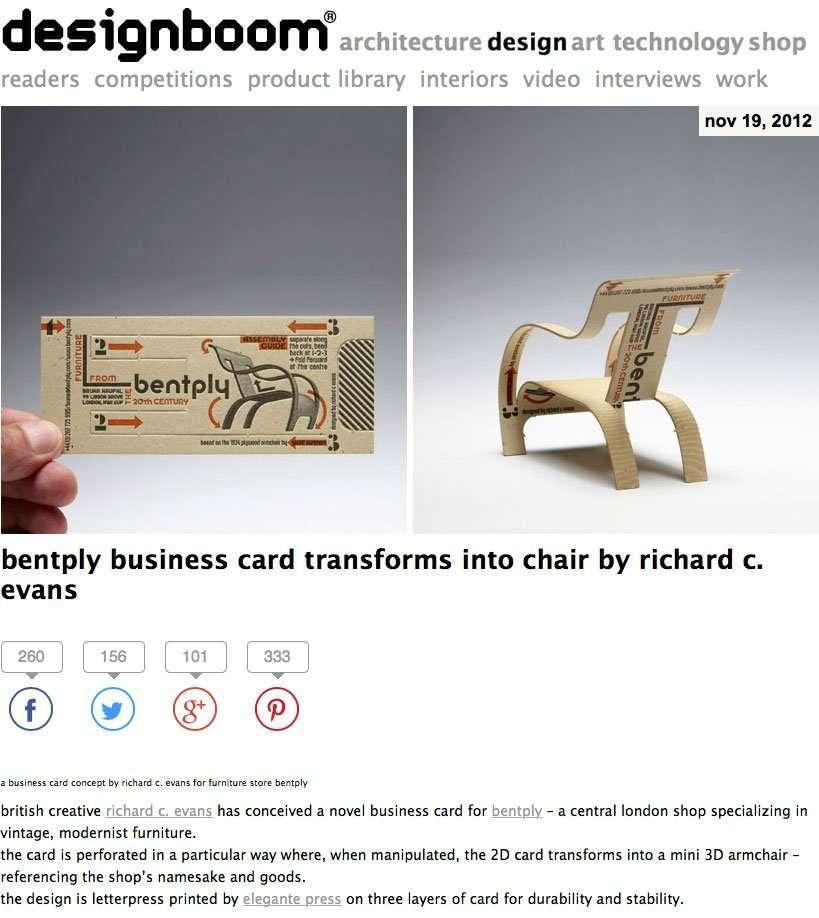 Elegante Press featured on designboom