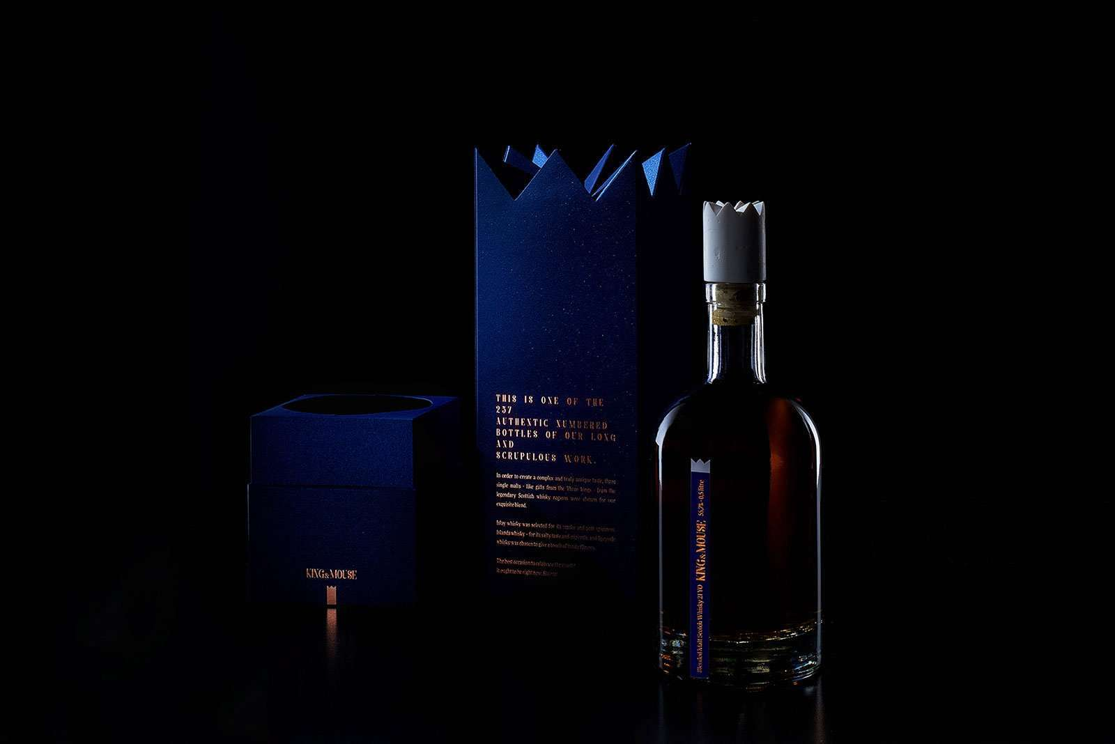 Luxury Labels For Exclusive Whisky Elegante Press