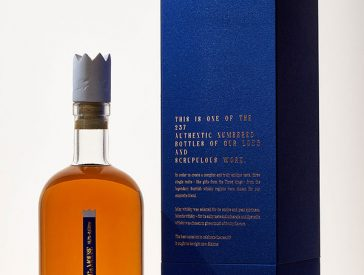 luxury labels for exclusive whisky