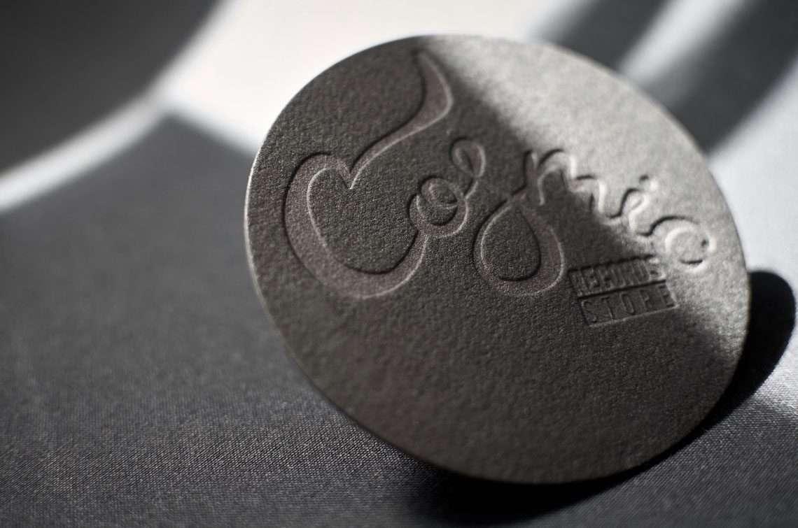 Custom Letterpress Coasters 4