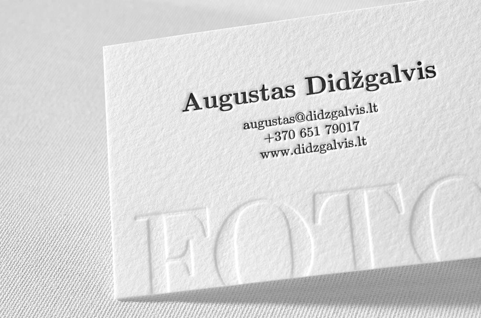 Photography business cards elegante press design letterpress photography business cards 08 magicingreecefo Gallery