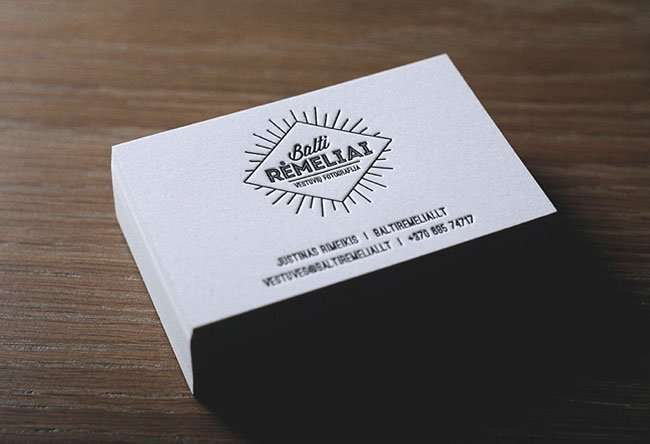 Wedding photographer business card | ELEGANTE PRESS | Professional ...