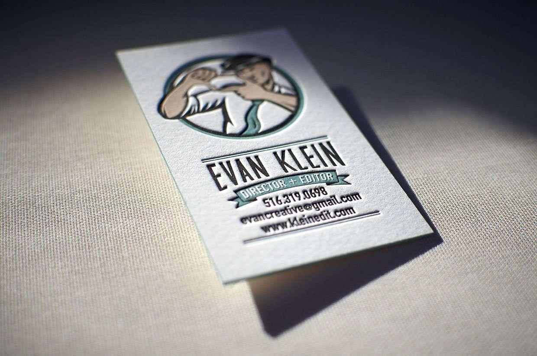 Stunning vintage letterpress business card elegante press vintage letterpress business card 2 magicingreecefo Gallery